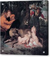 Romulus And Remus Acrylic Print