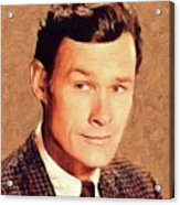 Ron Hayes, Vintage Actor Acrylic Print