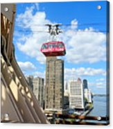Roosevelt Island Tram Acrylic Print