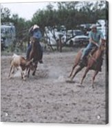 Roping Event 6 Acrylic Print