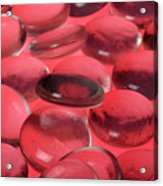 Round Glass Shapes Acrylic Print
