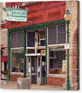 Route 66 - Chenoa Pharmacy Acrylic Print