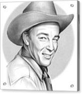 Roy Rogers Acrylic Print