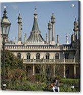 Royal Pavilion And Gardens In Brighton Acrylic Print