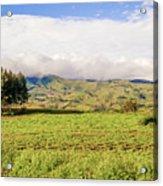 Rural Landscape Tanzania Acrylic Print