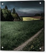 Rural Sunset Acrylic Print
