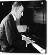 Russian Composer And Pianist Sergei Acrylic Print by Everett