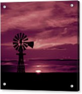 Rustic Sunset - Colorado Acrylic Print
