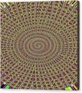 Saguaro Forest Abstract Acrylic Print