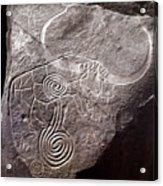 Saharan Rock Painting Acrylic Print