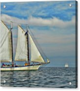 Sailing The Open Seas Acrylic Print
