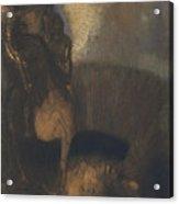 Saint George And The Dragon Acrylic Print