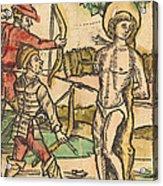 Saint Sebastian Acrylic Print