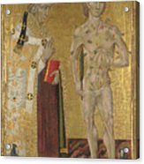 Saints Fabian And Sebastian Acrylic Print