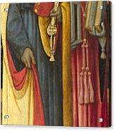 Saints Peter And Jerome Acrylic Print
