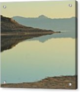 Salt Lake Reflections 3 Acrylic Print
