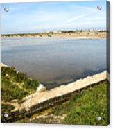 Salt Marshes - Trapani Salt Flats Acrylic Print