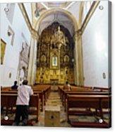 San Felipe De Jesus Satelite Acrylic Print