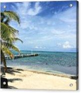 San Pedro Belize Acrylic Print