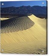 Sand Dunes Acrylic Print