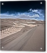 Sand Dunes Of Colorado Acrylic Print