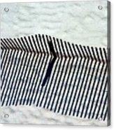 Sandfence Acrylic Print