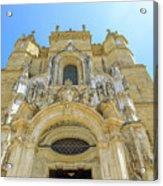 Santa Cruz Monastery Facade Acrylic Print