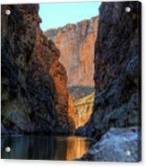 Santa Elena Canyon Acrylic Print