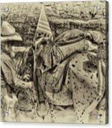 Santa Fe Cowboy Acrylic Print