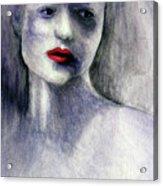 Sara Acrylic Print