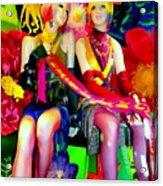 Sassy Sisters Acrylic Print