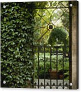 Savannah Gate Acrylic Print