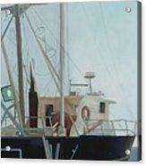 Scallop Boat Acrylic Print