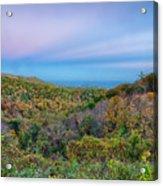 Scenic Blue Ridge Parkway Appalachians Smoky Mountains Autumn La Acrylic Print