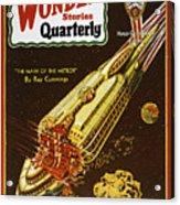 Sci-fi Magazine Cover, 1931 Acrylic Print