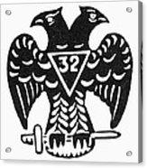 Seal: Freemasonry Acrylic Print