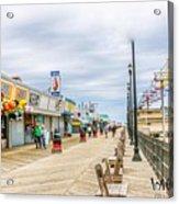 Seaside Boardwalk Acrylic Print