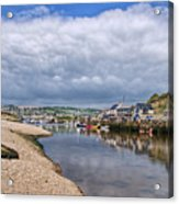 Seaton Harbour - Devon Acrylic Print