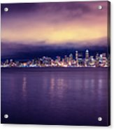 Seattle From Alki Acrylic Print