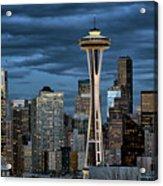 Seattle Night Acrylic Print