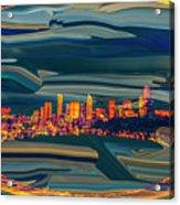 Seattle Swirl Acrylic Print