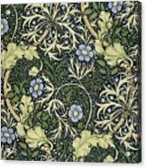 Seaweed Pattern Acrylic Print