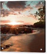 Secret Beach Maui Acrylic Print