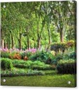 Secret Garden    Op Acrylic Print