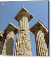 Segesta Greek Temple In Sicily, Italy Acrylic Print