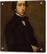 Self Portrait Acrylic Print by Edgar Degas