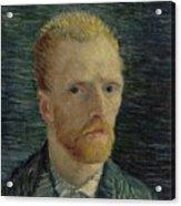 Self-portrait Paris July  August 1887 Vincent Van Gogh 1853  1890  Acrylic Print
