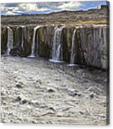Selfoss Waterfall Acrylic Print
