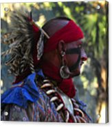 Seminole Warrior Acrylic Print