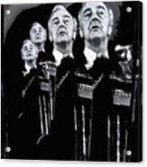Senator Eugene Mccarthy Fontainebleau Hotel Collage #3 Democratic Nat'l Convention Miami Beach Fl Acrylic Print